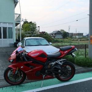 4/27(月)早朝バイクで一回り