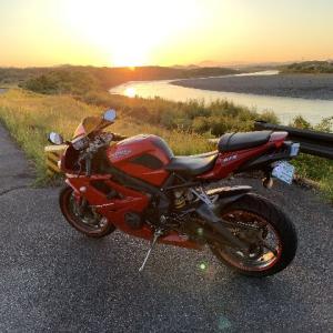 5/7(木)今日から仕事、早朝バイク。