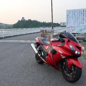 5/13(水)今日も早朝バイクです。