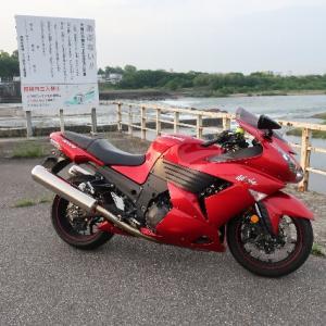 5/18(月)今日も早朝にバイク。