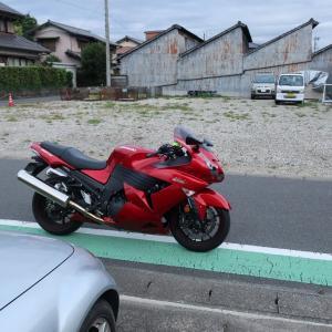 5/21(木)今日も早朝バイクでした。