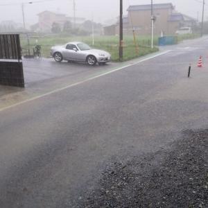 7/8(水)自宅地方も大雨です。
