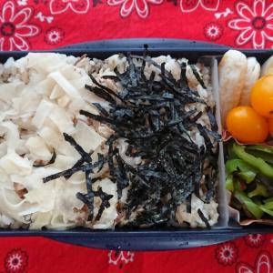 秋刀魚混ぜご飯弁当