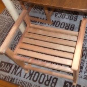 軽い椅子作成