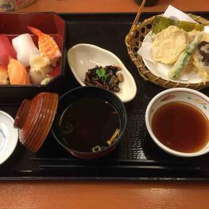 和食さとで夕食
