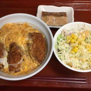 なか卯での夕食