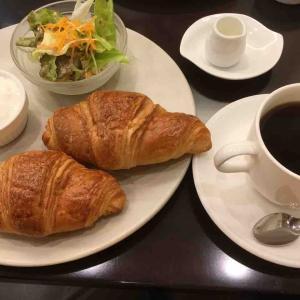 伊藤珈琲で朝食。久しぶり‼︎