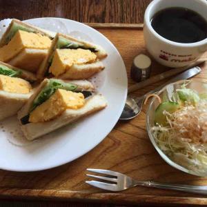 コーヒーハウス マキで朝食♪