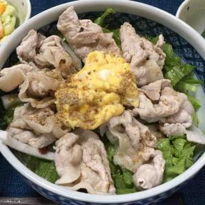 豚肉の冷しゃぶ素麺