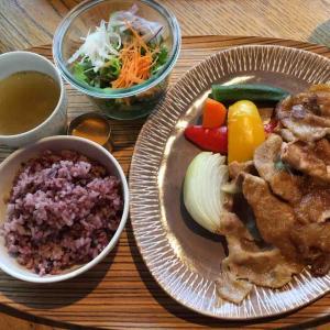 タニタカフェで昼食