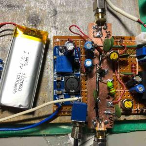 自作CBトランシーバーの製作 その2 (送信回路)