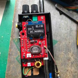 自作CBトランシーバーの製作 その5 試作2号機 送信特性
