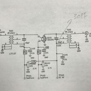 WVU-1103 CBハンディ機の設計メモ④