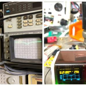 アンテナアナライザーで短縮ホイップアンテナを直結で測定してみる