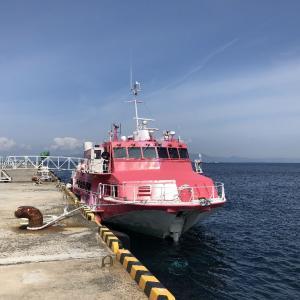 伊豆大島 JCG10004A移動