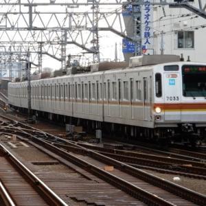 東横線 メトロ7000系 7133F