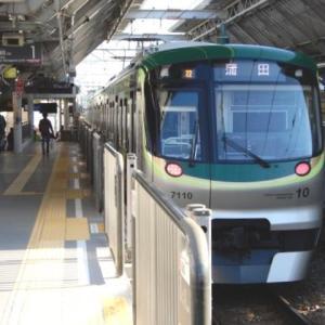東急多摩川線 7000系 7110F