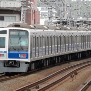 東横線 西武6000系 6105F