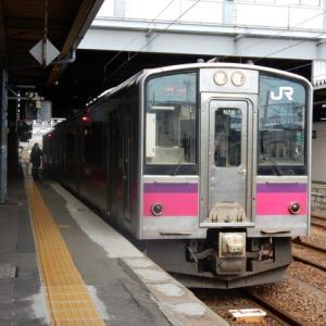 羽越本線 701系 N23