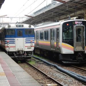 信越本線 白新線 キハ47形1500番台 E129系100番台
