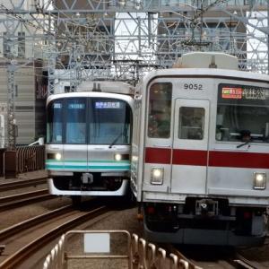 東横線 メトロ9000系 東武9050系 9108F 9152F