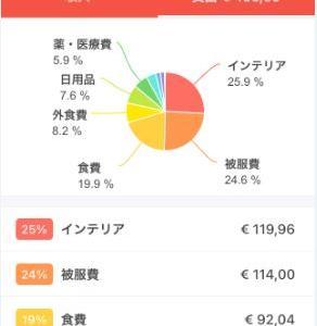 2021年2月度家計簿