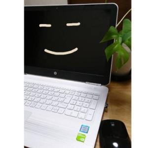 PCで自分のブログを見て驚いた!