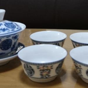 おちょこみたいな香港の茶器