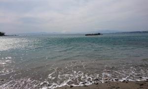 外出自粛、海でストレス解消