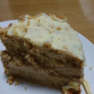 食べたケーキを自分で作る。重い、硬い、味しない、失敗です。