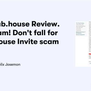 【注意】Inviteclub.houseは詐欺サイトとの報告!clubhouseの招待をもらえるサイト