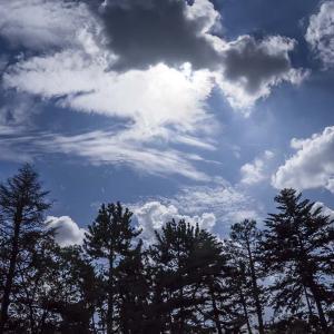 秋を感じる雲を見た-修正