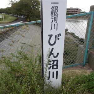 【へら鮒釣り】びん沼川の台風後