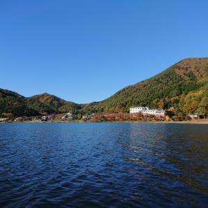 【河口湖  へら鮒釣り】令和元年11月12日の釣果