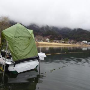 【河口湖へら鮒釣り】令和2年2月26日の釣果