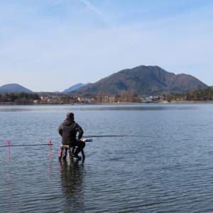 【河口湖へら鮒釣り】令和3年2月27日の釣果