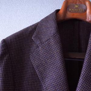 フィットと柄。ERRICO FORMICOLAのハウンドトゥースジャケット