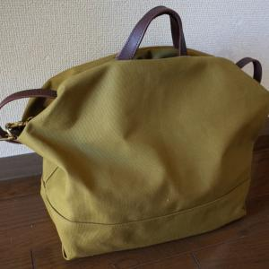 パパバッグ。ense canvas 3way tote