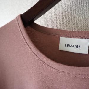 LEMAIRE(ルメール)のクレープTシャツを購入しました。