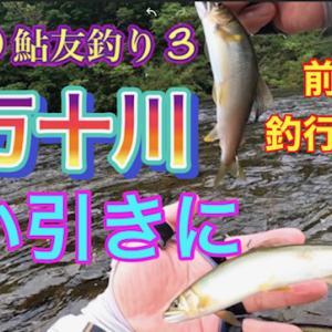 2020 鮎友釣り 3 四万十川 前編釣行1日目 強い引きに YouTube 公開します。