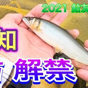 2021 鮎友釣り 1 【高知 鮎解禁】 公開予告です