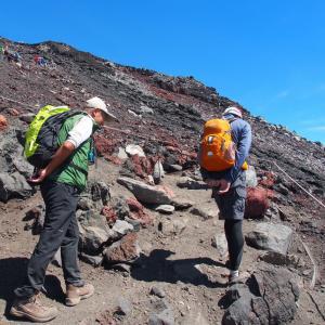 富士山2500回以上登頂の 実川氏と出会いました!