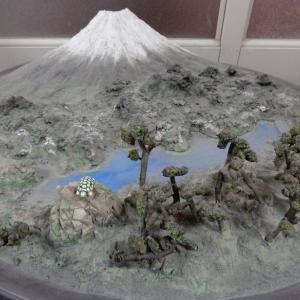 富士山と三保の松原 作品