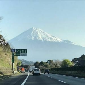 富士川橋付近の富士山 /^o^\