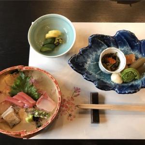 和食をご馳走になりました!
