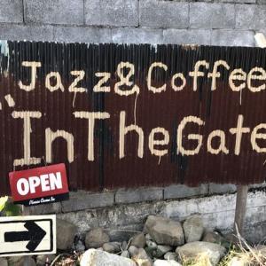 店内から「山が見える」旧甲州街道のDIYで作られた喫茶