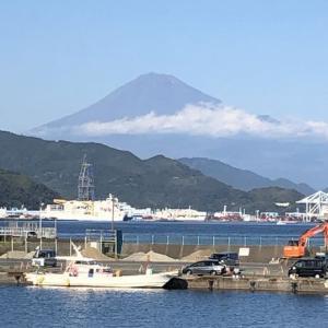 /^o^\ 富士山と「地球深部探査船ちきゅう」