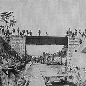 全国でも珍しい『谷津沢川水道橋』…静岡市清水区