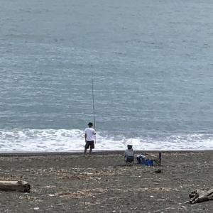 蒲原海岸をウォーキング 潮風が気持ちいい!…静岡市清水区蒲原