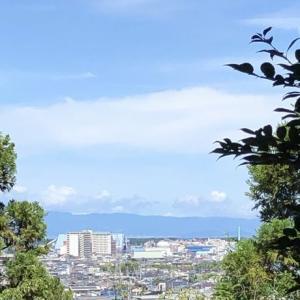 伊勢神明宮 奥の院からの眺望 綺麗!…静岡市清水区